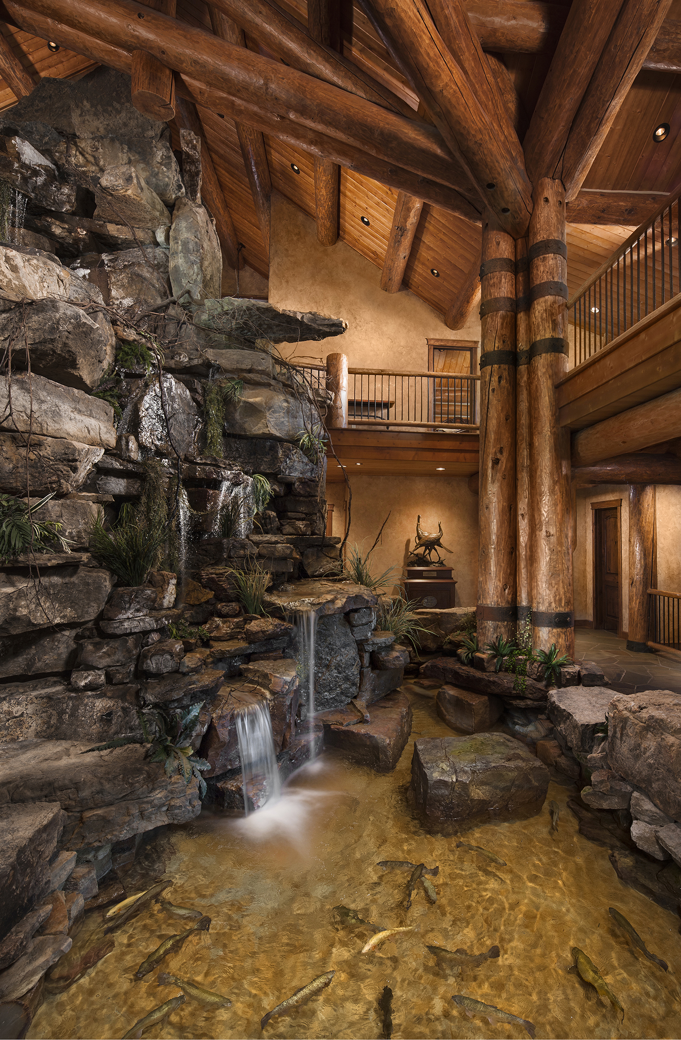 Stwrt trout pond rocky mountain homes for Rocky mountain home builders