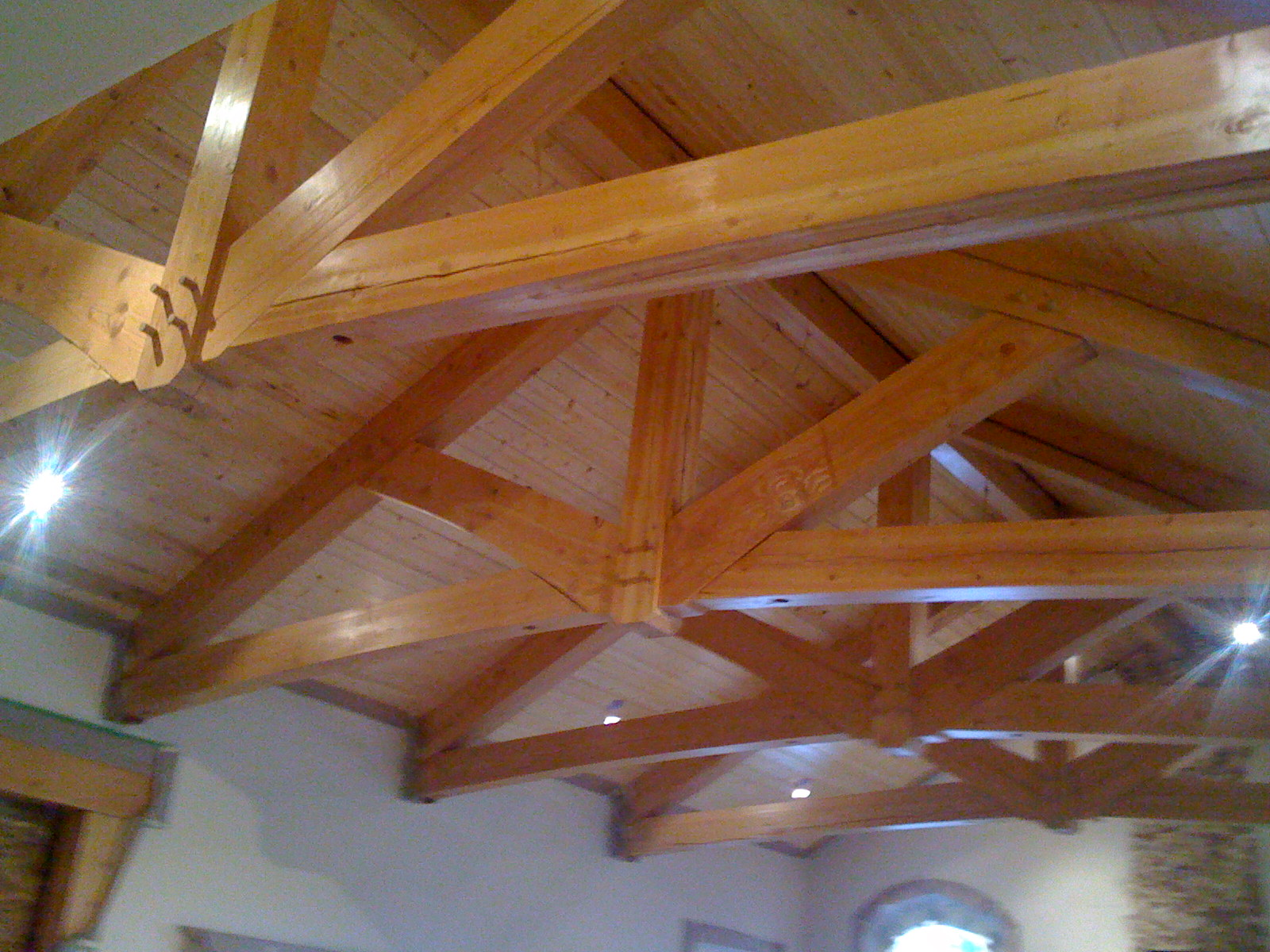Interior Timber Truss | Rocky Mountain Homes