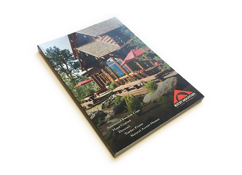 Rocky Mountain Homes printed plan book