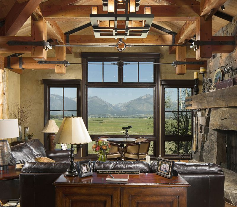 Mountain Timber Frame | Rocky Mountain Homes